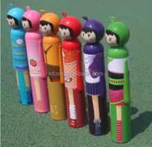 2015 new design Doll Style Folding Umbrella / kids umbrella / mini umbrella
