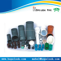 China suppliers PVC/PP/PPR/PE/ABS/PPSU plastic injection mould pvc mould pipe