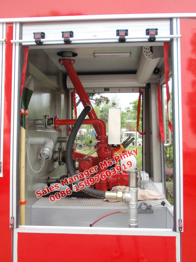 De bomberos del agua, fuego tierna, combates camión de bomberos, agua y espuma de vehículo