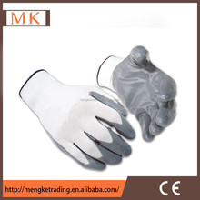 13g polyester nitrile coated gloves