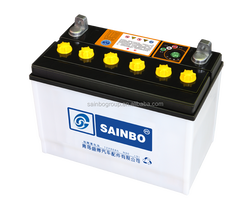 Deep Cycly Rechargeable Car Battery Dry Charged Car Battery