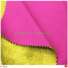 knit fabric bond with velvet fleece sports usage waterproof breathable function