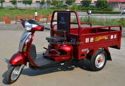 China motorized cargo tricycles for sale