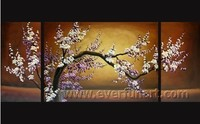 Beautiful Canvas Art Palette Knife Flower Oil Painting for Home Decoration