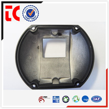 Professional casting manufacturer in China / 2015 Popular Black painted camera upper cover for CCTV use