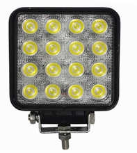 Factory Supplier 48w led work light for truck Spot/flood Beam led work light for Truck 12v/24v 48w truck led work light