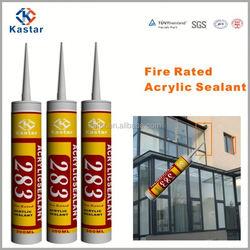 fire resistant propenoic acid fluid sealant