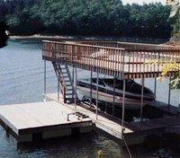Floating Aluminium Boat Pontoon Dock