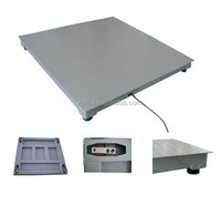 China factory made 2 ton floor weighing scale