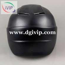 Carbon fiber film Water transfer printing motorcycle helmet open face half helmet