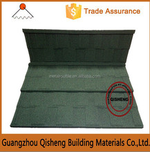 Guangzhou manufacturers provide stone coated metal roof tiles