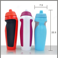 600ml peronsonal food grade plastic air valve squezze drinking bottle