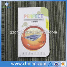 High quality 0.33 thickness transparent explosion-proof tempered glass screen protector for n7100