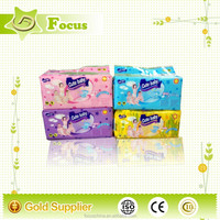 Colorful printed Disposable Baby Cloth Nappy