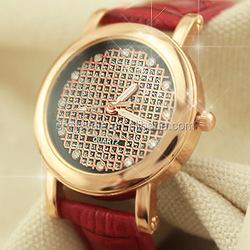 High Quality Diamond Women Watch 4Color