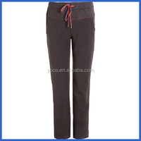 Fashional polyester sport tracksuit pants for girls
