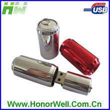 custom usb flash drive metal cola bottle with best wholesale price