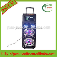 Professional Active DJ Bass Woofer Speaker with LED Light from Alibaba China Gem-7006