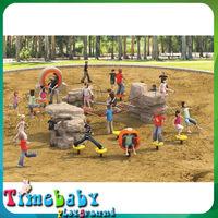 Factory price kids slide with swing, children plastic playground design