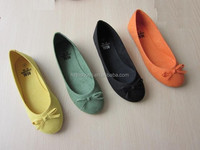 More color selected cheap women's shoes basic style women' ballerina shoes microfibre upper and lining