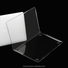 For the new macbook case tranparent ,crystal for the macbook air case new arrival