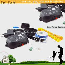 Pet Fence Training Rechargeable Electric Shock Dog Collar for Small Dogs
