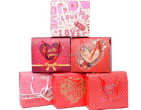 2015 fashion double kraft paper bag/ paper die cut bag/ supply wedding candy gift paper bag