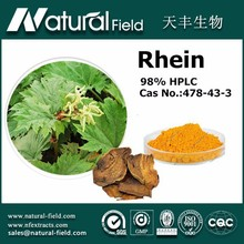 100% pure natural herb extract rhein