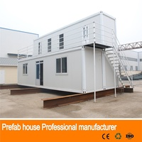 economical solid prefab beach prefabricated office building container