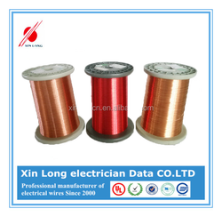 Insulated materials enameled CCA wire for radio frequency coils