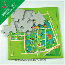 2015 Students best-loved a4 size sublimation jigsaw puzzle