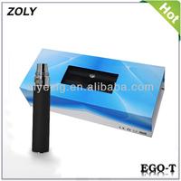 Retail large vaporizer battery; electronic cigarette EGO T starter kit battery