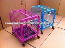 with wheels dogs cage