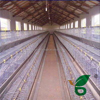 Good quality professional design wooden chicken layer cage