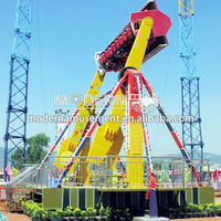 Super Crazy theme park rides top spin for sale