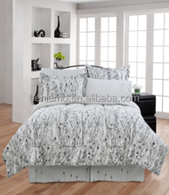 High quality 180T 100% Cotton 7pcs comforter sets,Panel print Adult,design for North American