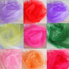 20*275cm In Stock Wedding Organza Cheap Wedding Chair Cover Sashes Sash Party Banquet Decoration Bow Colours