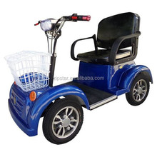 4 Wheel Electric Scooter / 48V Electric Four Wheeler / Lithium Battery Quadricycle