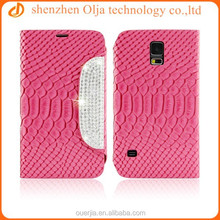 for samsung galaxy S5 case cover, folio leather case for galaxy S5,stand wallet phone case for samsung galaxy S5