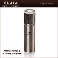 Guangzhou cigar accessories cohiba promotion aluminum cigar case custom cigar holder