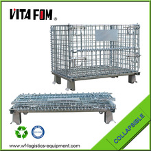 VITAFOM industrial stackable storage wire mesh containers