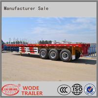 3 axle flatbed semi trailer,container semi trailer for sale