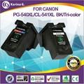 for Canon printer remanufactured ink cartridge / printer reman ink cartridge for Canon PG540 /printer inkjet cartridge