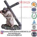 venta caliente nuevo diseño personalizado de resina estatuas religiosas católicas