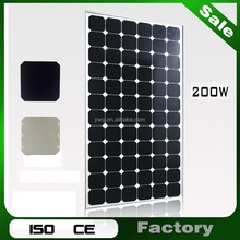 With A-grade Cell and 0.5mm EVA Film for 200w Solar Panel and Solar Panel Chargers Sale in China