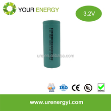 LiFePO4 rechargeable battery cells 26650 3.2V cylindridal battery for power tools