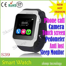 Cell phone watch/smart watch mobile phone with Control remote camera,take photos on the watch
