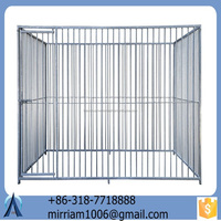 2015 standard and safe Large outdoor galvanised welded dog kennels & dog cage & dog runs
