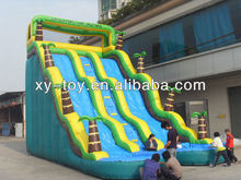 2013 New design trees giant inflatable water slide,Hot jungle inflatable slide for sale