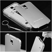 High Quality Metal Matte Surface for Samsung Galaxy S5 Back Cover for Cell Phone